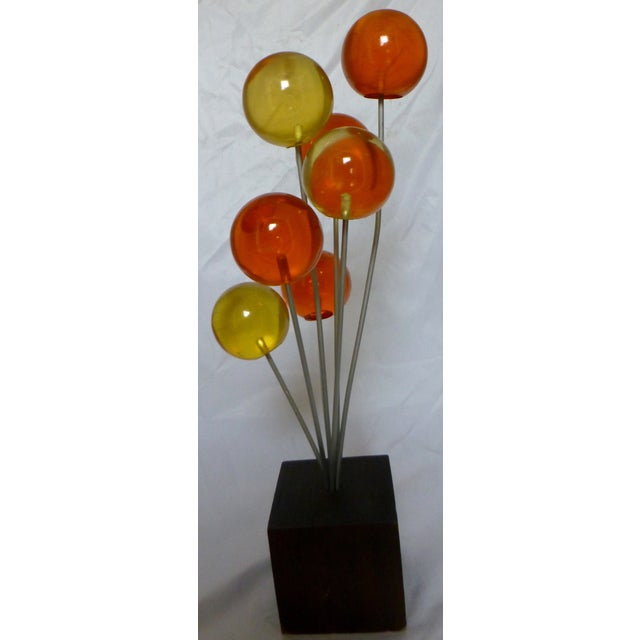 Image of Mid Century Lucite Lollipop Sculpture