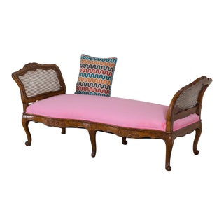 Antique French Louis XV Period Walnut Daybed circa 1760