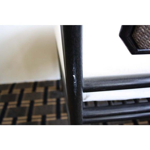 McGuire Harlan Side Chair in Gunmetal - Image 8 of 8