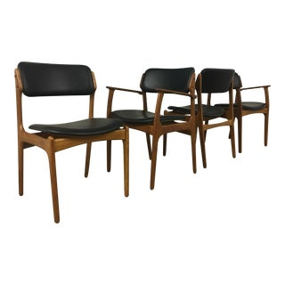 Eric Buch Model 49 Dining Chairs - Set of 4