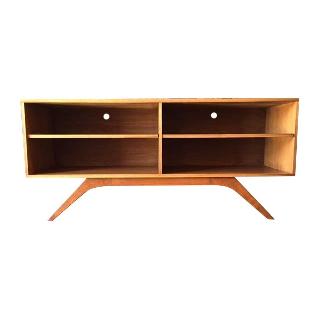 Mid-Century Console Table - Image 1 of 4