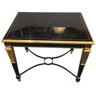 Regency Tessellated Horn Table