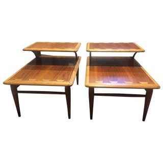 Vintage Lane 2 Tier Side Table Set - 2