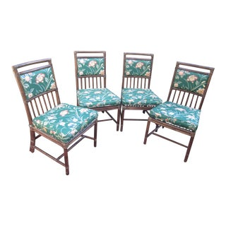 McGuire Bamboo Chairs- Set of 4