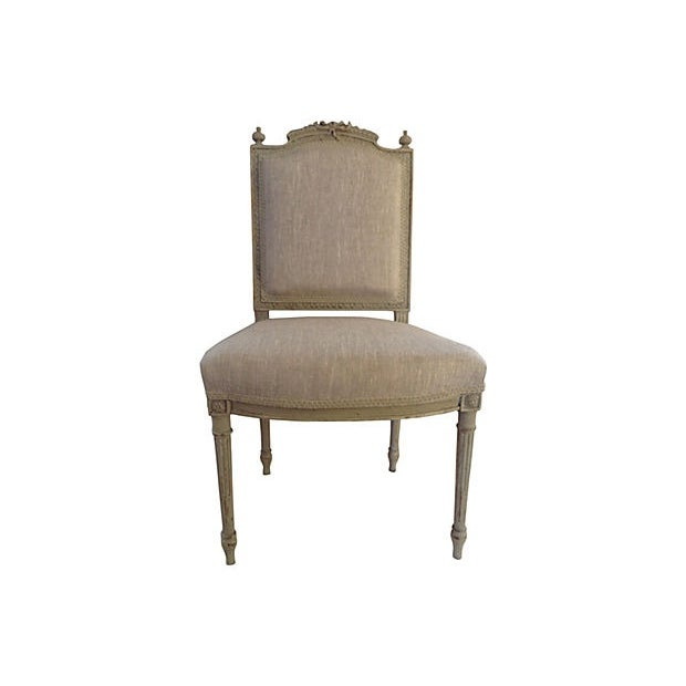 Petite French Side Chair - Image 1 of 7