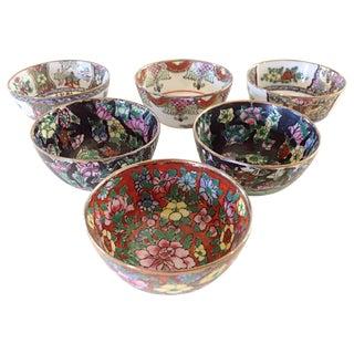 Japanese Sake Cups, Set of 6
