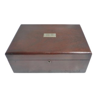 Vintage Rosewood Humidor Box