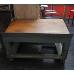 Image of Vintage Wooden Factory Cart