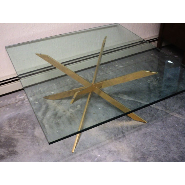Pace Collection Double X Coffee Table Base - Image 3 of 11
