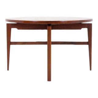 Jens Risom Revolving Top / Lazy Susan Game or Dining Table