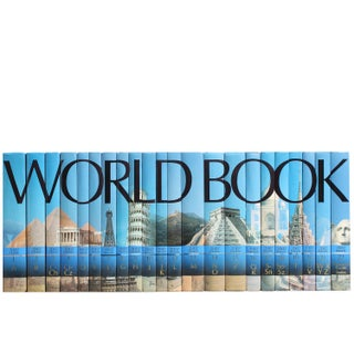 World Book Encyclopedias - Set of 22