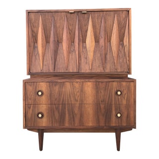 American Martinsville Diamond Highboy Dresser