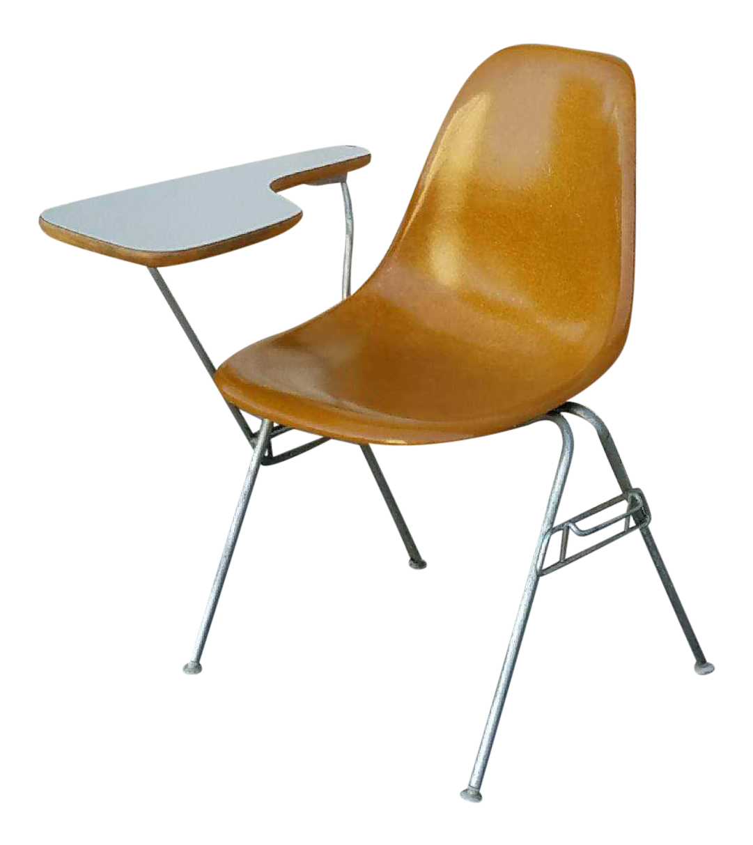 Herman Miller Eames Chair W/Attached Desk
