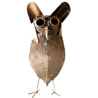 Brutalist Metal Owl