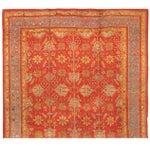Image of Antique 19th Century Turkish Oushak Carpet