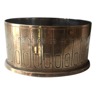 Brass Wine Coaster by Ernest Sohn
