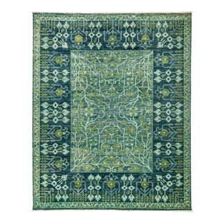 """Eclectic, Hand Knotted Area Rug - 8' 1"""" x 9' 10"""""""
