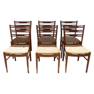 Mid-Century Danish Teakwood Sidechairs - Set of 6