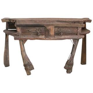 P. Mohanta Wood Console Table