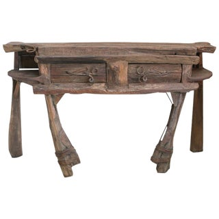 P. Mohanta Wood Console Table