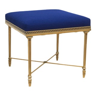 Single Italian Brass Stool