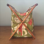 Image of Vintage Knitting Basket/Magazine Holder