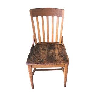 Beechwood Vintage Schoolhouse Chair