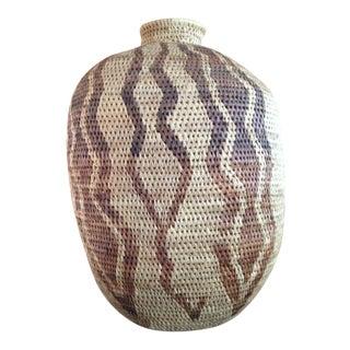 African Handmade Tribal Basket
