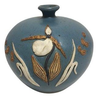 Vintage Tammy Bier Pottery Vase