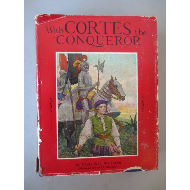 With Cortes the Conqueror, Illustrated 1st Edition - Image 2 of 7