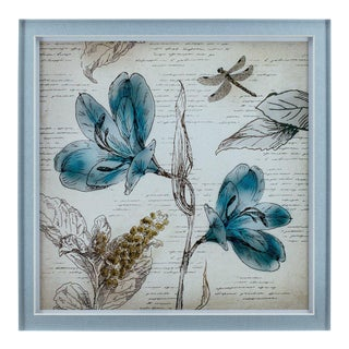Fleur Wall Art Pieces - Set of 4