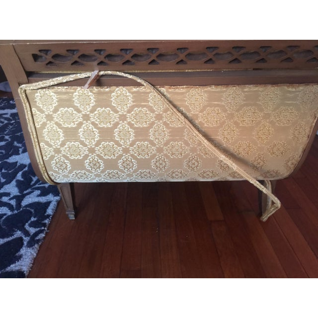 French Provincial Brocade Sectional Sofa Chairish