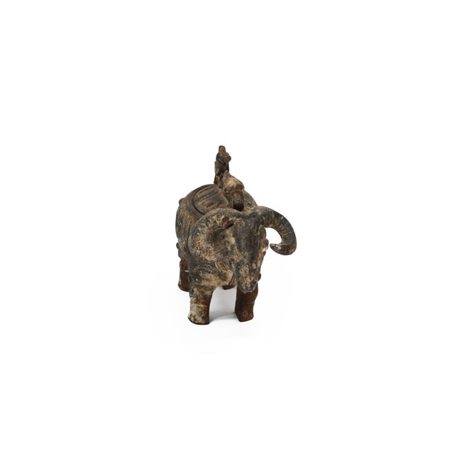 Chinese Ram Vessel Archaistic Bronze - Image 4 of 6