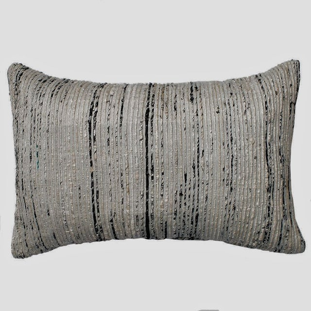 Handmade Dhurrie Style Pillow - Image 2 of 5
