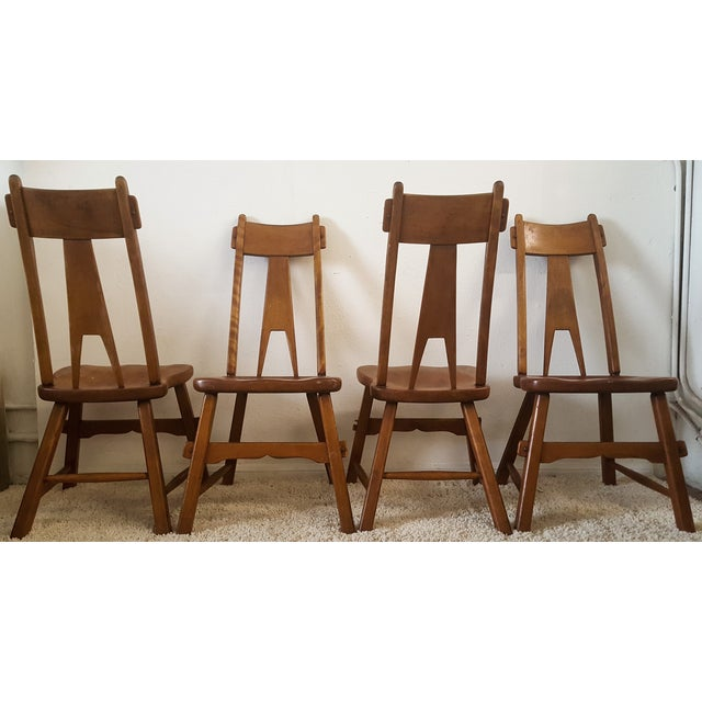 Sikes Furniture Chairs From 1939 - Set of 4 - Image 4 of 10