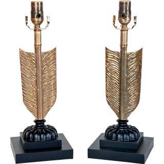 Arrow Lamps - A Pair
