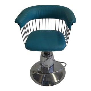 Mid Century Modern Verner Panton Style Barber Chair
