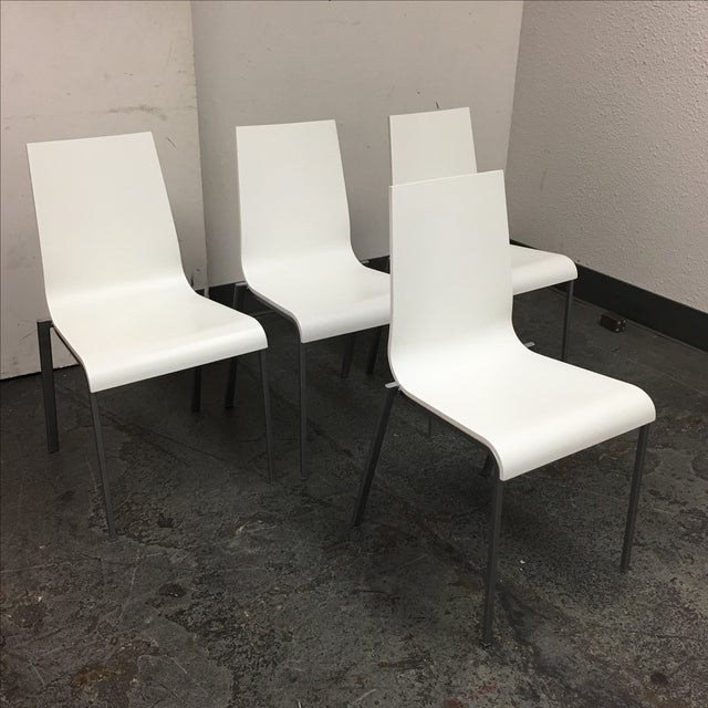 Ligne Roset Zoe Chairs - 4 - Image 3 of 8