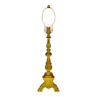 Vintage Hollywood Regency Painted Table Lamp