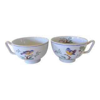 Spode Queen's Bird Cups - A Pair