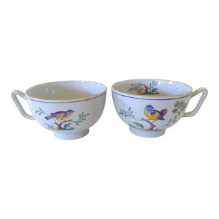 Spode Queen's Bird Cups - A Pair