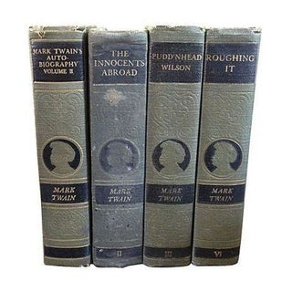 Vintage Set of Mark Twain Classics