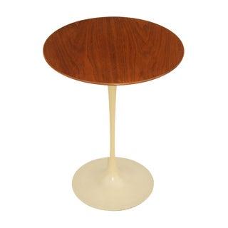 Knoll Saarinen Tulip Walnut End Table
