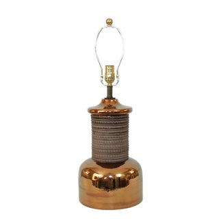 Mid-Century Modern Bitossi Pottery Lamp