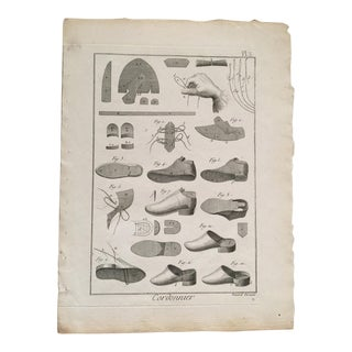 French Fine Art Print of Shoes