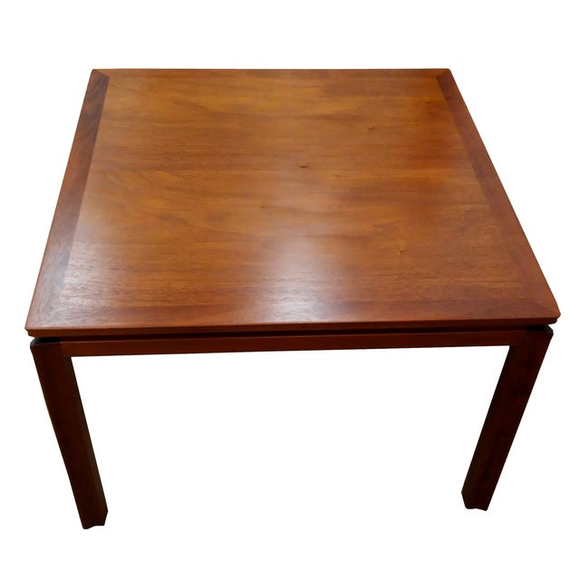 Image of Mahogany Side Table by Edward Wormley for Dunbar