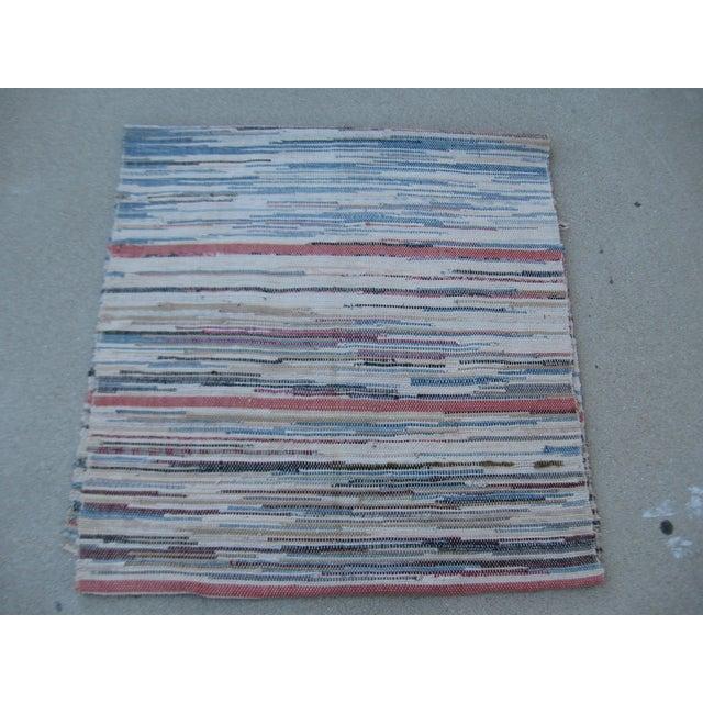 Image of Americana Rag Rug Runner - 2′8″ × 10′4″