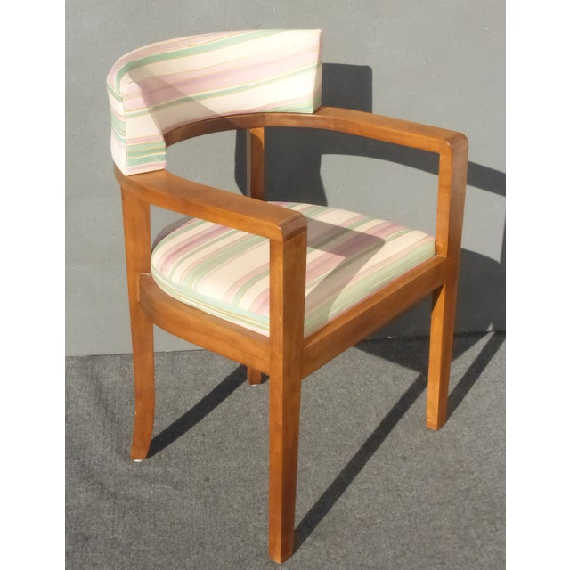 Mid-Century Danish Modern Leather Arm Chairs - 4 - Image 7 of 11