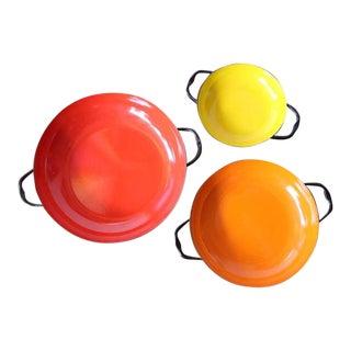 Enamelware Nested Bowls