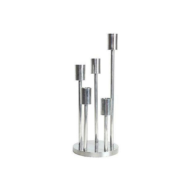 Modernist Spiral Candleholder - Image 1 of 2